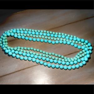 Jewelry - Beaded Ombré Statement Necklace NEW
